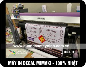 2 MAY IN DECAL TAY NINH